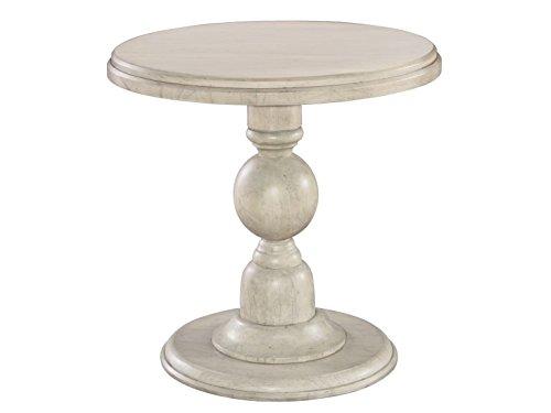 Hekman Pedestal Desk - Hekman Furniture 12203LN Pedestal End Table