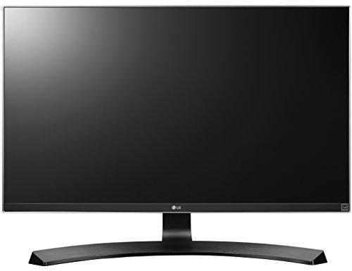LG 27UD68P-B mit 68,58 cm (27 Zoll) Computer-Monitor (HDMI, HDCP, DisplayPort, Mini DP, 5 ms Reaktionszeit, HD 4k, ergonomische Höhenverstellung, Pivot Funktion und Neigefuß) schwarz