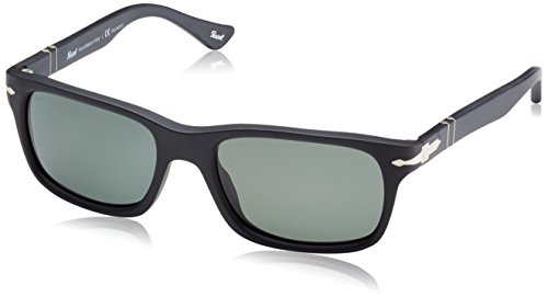 Persol Mens Sunglasses (PO3048) Black/Grey Acetate - Polarized - - Persol Eyewear