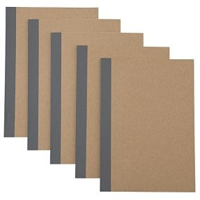 MUJI A5 NOTEBOOK 30 sheets (Pack of 5)