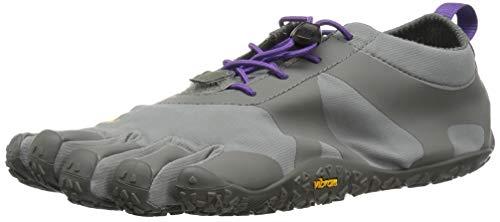 Image of Vibram Women's V-Alpha Grey/Violet Hiking Shoe, 8-8.5 M B EU (40 EU/8-8.5 US)
