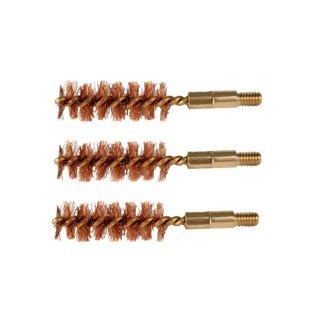Bore Tech Bronze Pistol Brush (Pack 3), 40/41 Calorie/10mm by Bore Tech