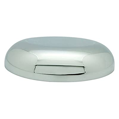 Topline (HD1117-1) Chromed Round Horn Cover: Automotive