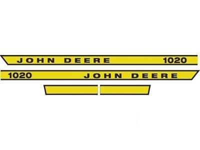 John Deere Hood Decal Part No: A-JD401