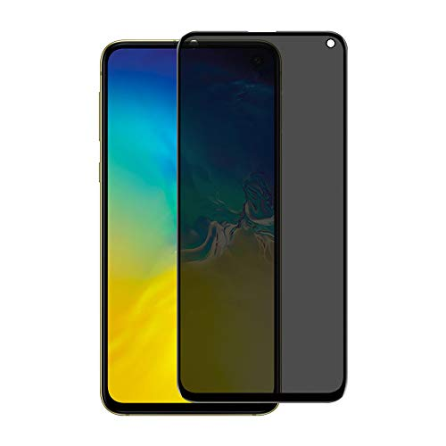 VitaVela Galaxy S10 Privacy Tempered Glass Screen Protectors, 9H Hardness (Case Friendly Updated Design) 3D Curved Anti-Spy Screen Protectors,for Samsung Galaxy S10 (W5)