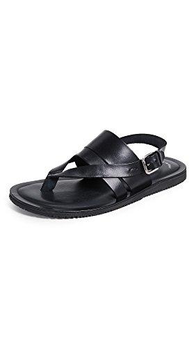 Kenneth Cole New York Men's Reel-ist Flat Sandal, Black, 8 M US by Kenneth Cole New York