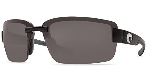 Costa Del Mar Galveston C-Mate 2.00 Sunglasses, Black, Gray 580P - Costa Sunglasses Del Mar Galveston