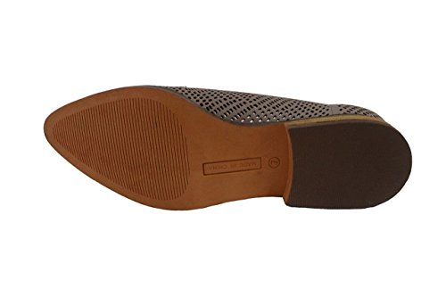 Mocassini Slip-on Da Donna In Pelle Sintetica Londinese, Talpa, 10 B (m) Us