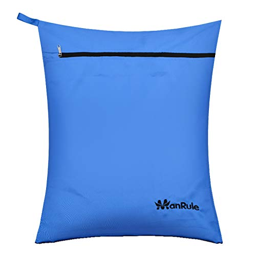 ManRule Pet Laundry Bag for Washing Machine Oversize Hair Remover Bag for Pet Beds, Fleece, C&C Cage Liners, Midwest Cage Liners, for Dogs, Cats, Guinea Pigs, Rabbits and Small Pets