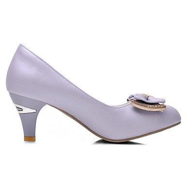 women's Cirior heels high heels faux dress pink high pink green women's purple leather heels shoes SxxCwf