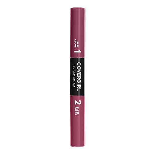 COVERGIRL Outlast All-Day Color & Lip Gloss, Mighty Berry, 0.2 Ounce (packaging may vary)
