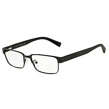 985f6ca016fc Armani Exchange AX1017 Eyeglass Frames 6000-54 - Black AX1017-6000-54