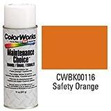 Krylon Industrial Colorworks Enamel Safety Orange - Lot of 6