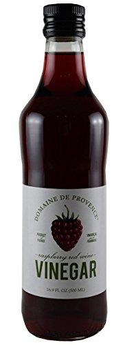 Domaine de Provence Raspberry Red Wine Vinegar, 16.9 Fl Oz