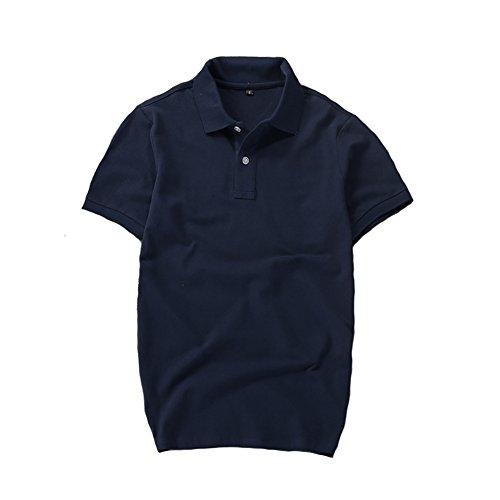 ポロシャツ メンズ 半袖 作業着 夏 無地 開襟シャツ 吸汗速乾 スポーツウェア ゴルフウェア インナーシャツ Tシャツ ラペル スポーツウェア トップス 快適