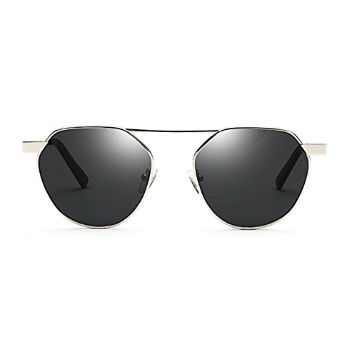 Impulsión retras Amazing de de sol Masculinas la la Caja de Femenina Irregulares Cara Gafas O1n0T1