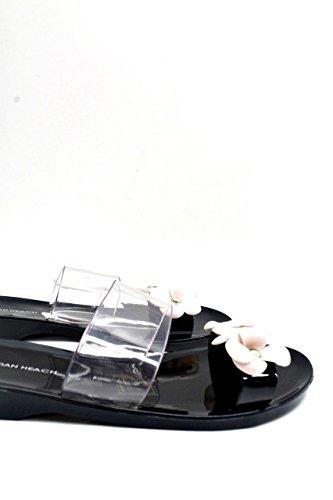 Silvian Heach Women's Fashion Sandals Black Black 6 MqL2h