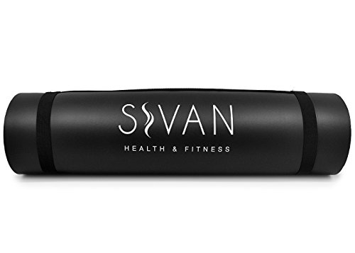 """Sivan Health and Fitness Yoga Set 6 Piece– Includes 1/2"""" Ultra Thick NBR Exercise Mat, 2 Yoga Blocks, 1 Yoga Mat Towel, 1 Yoga Hand Towel and a Yoga Strap"""