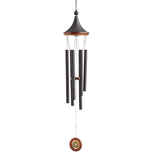 Pier 1 Imports Modern Black & Brown Wind Chimes ()