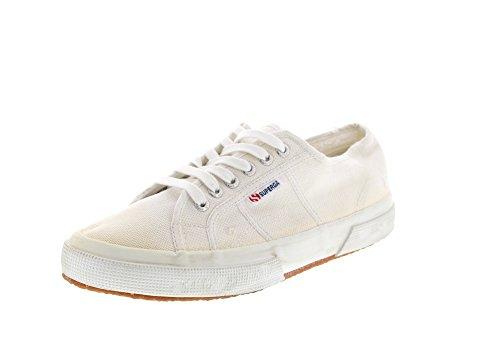 Superga Sneaker Adulto Unisex COTUSTONEWASH Bianco 2750 rqwAxrZ1