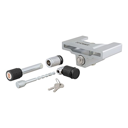 Unattended Trailer Coupler Lock (Curt Manufacturing 23088 Hitch/Coupler Lock Set)