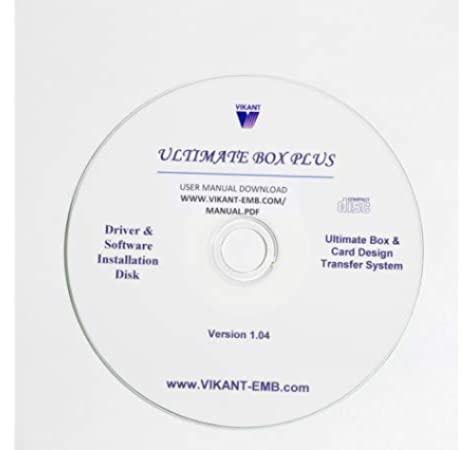 Amazon Com Ultimate Explorer Software 1 04 Plus Upgrade For Vikant Ultimate Box And Card Embroidery Design Converter
