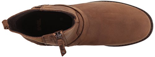 Teva Women's Delavina Dos Premium Leather Boot Brown (Bison) pingqrf