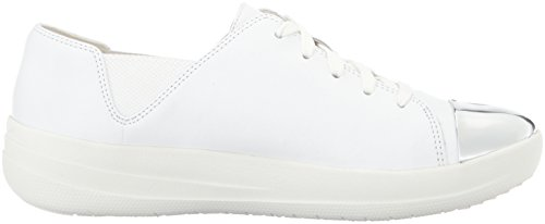 TM Sneaker de Up Femme Tennis Soft White Chaussures Sporty Lace FitFlop Urban F wqEO11