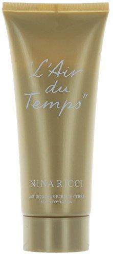 Nina Ricci L'air Du Temps ~ Soft Body Lotion for Women, 3.4 Oz.