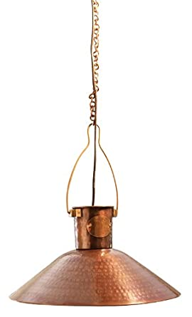 Traditional French Copper Pendant Light l&  sc 1 st  Amazon UK & Traditional French Copper Pendant Light lamp: Amazon.co.uk: Lighting azcodes.com