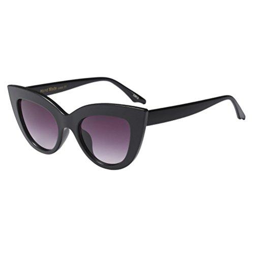 Hommes UV400 De Zhuhaitf Unisexe Style4 Vintage De Ombres Femmes Rétro Black Soleil Lunettes Protection xzw1ztq