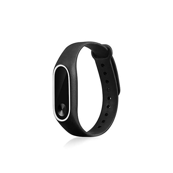 1 correa de silicona suave de repuesto para Xiaomi Mi Band 2, correa de repuesto/correa de reloj para XiaoMi 31Bdbx3R7eL