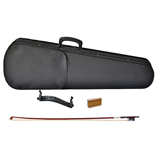 MXG.QING Accesorios para violín Accesorios para Instrumentos Musicales Principalmente Incluyen: Caja de triángulo x1, Arco...