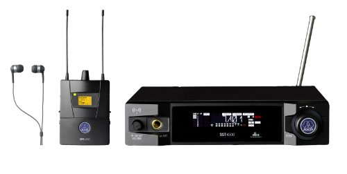 AKG Pro Audio IVM4500 Set BD8-100mW In-Ear Audio Monitor System (Akg Monitor)