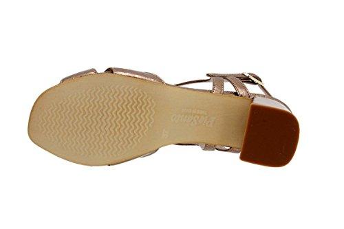 Sandalette Damenlederschuh Nude bequem 1495 breit Komfort PieSanto gzBw68
