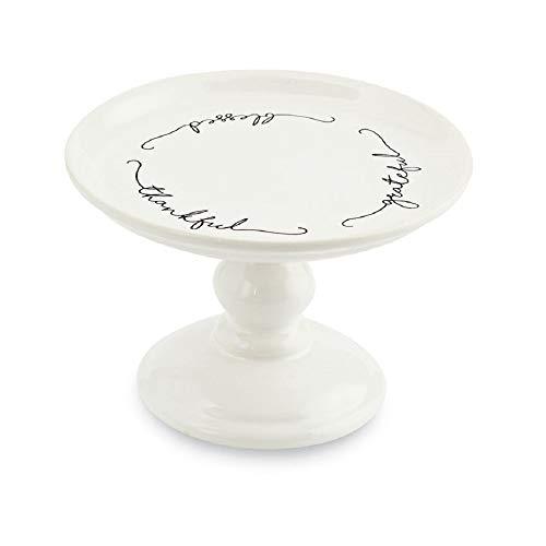 - Thankful Grateful Blessed Mini Pedestal, 4