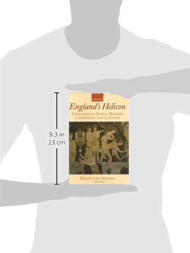 England's Helicon: Fountains in Early Modern Literature and Culture