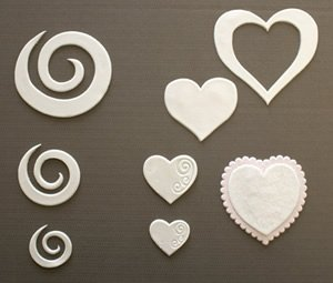 Swirls & Hearts by Patchwork Cutters