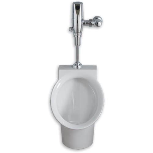 American Standard 6042.001EC Decorum Wall Hung Urinal with Top Spud - Less Flush, White