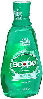 Scope Mouthwash Original Mint - 33.33 oz, Pack of 2