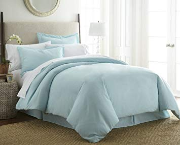 Soft Essentials™ Premium Ultra Soft 2 Piece Twin Duvet - Aqua(Pack of 12) by Soft Essentials (Image #1)