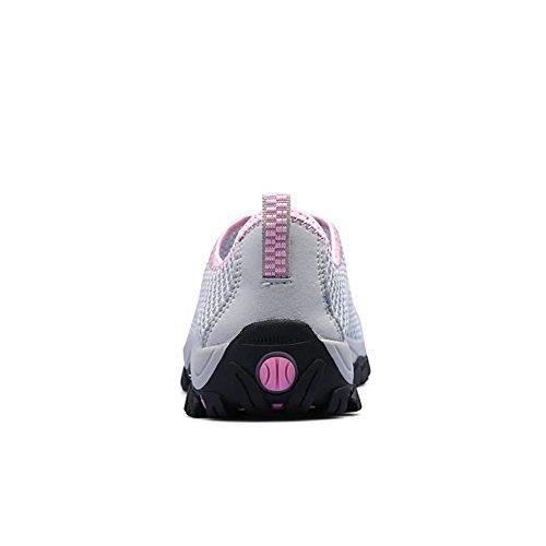 da Cricket Flat e Donna Hollow per Uomo Scarpe Gray pink Heel Sneaker Fashion RxSzTaq