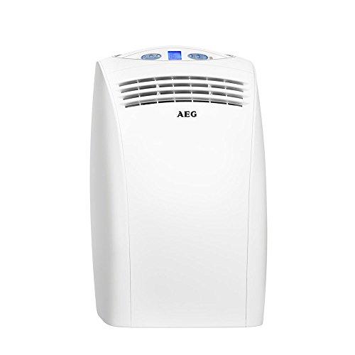 AEG K27 Mobiles Klimagerät 3-in-1 Kühlung, Entfeuchtung, Ventilator, 2,7 KW, Schalldruckpegel 38/48 db, EER 3,1, 233753, EEK: A+
