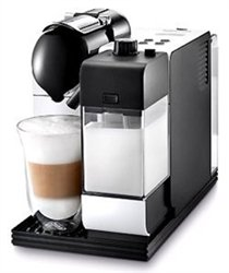 DeLonghi White Lattissima Plus Nespresso Capsule System by DeLonghi