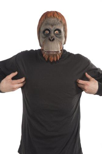 (Forum Novelties Men's Orangutan Latex Mask, Multi Colored, One)