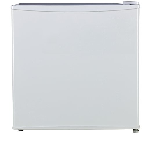 BestAppliance White 1.6 Cubic Feet Compact Single Reversible Door Refrigerator and Freezer