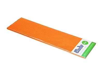 3Doodler OJ Orange PLA Plastic 3D Printing Pen (x25 Strand)