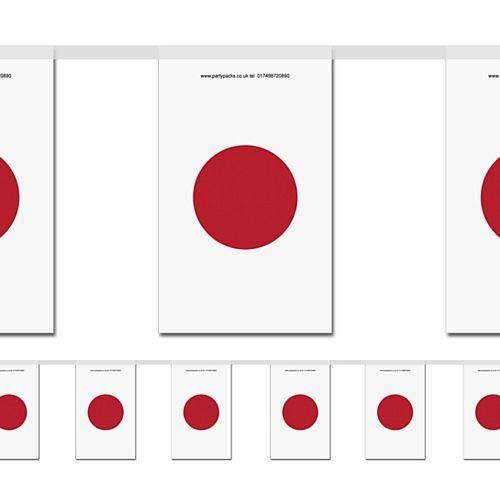 idealWigsNet Bandera de Bandera pequeña Japonesa - 2.4m