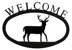 Wel-3-s Deer Welcome Sign Small
