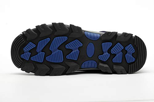 Hombre Zapatillas Ligeras Unisex de Seguridad tone ranspirables de Unisex Zapatillas Trabajo Ali Comodas Acero Entrenador Deportivos con de Azul02 Mujer Puntera S3 Senderismo Antideslizante Zapatos de xnwUEFB